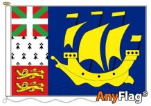 ST PIERRE ANYFLAG RANGE - VARIOUS SIZES